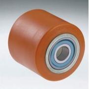 Immagine di Rullo  con nucleo in acciaio e rivestimento in poliuretano colato